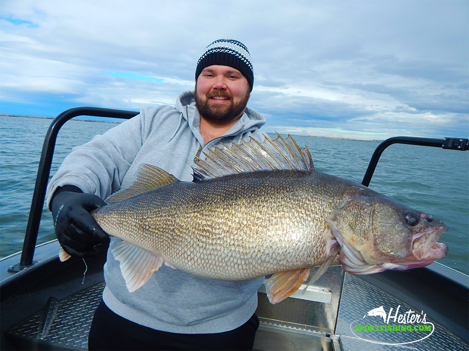 Walleye, Sturgeon and Shad Fishing Trip